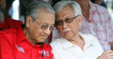 Mahathir and Daim have conflicting views on whether the CEP's report should be made public.
