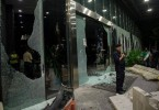 One City Mall was vandalised after a riot near the temple in Seafield in November last year.
