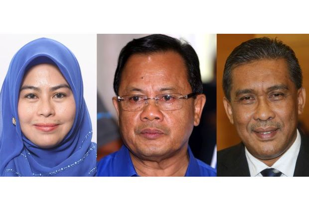 The three Opposition members who decided to quit the PAC effective today (March 25). PKR representative Nurul Izzah Anwar quit a few days earlier.
