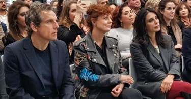 Hollywood stars Ben Stiller and Susan Sarandon in Beirut for the screening of Soufra .