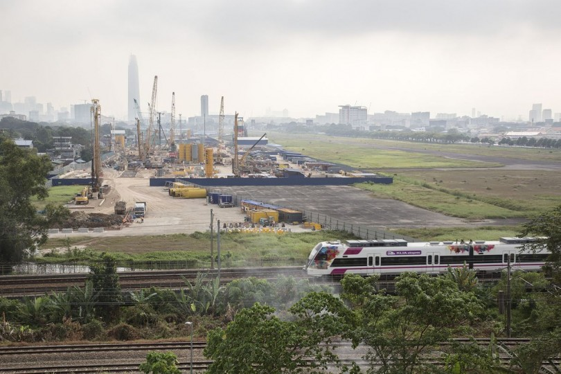 Some of the work already done at the Bandar Malaysia site.