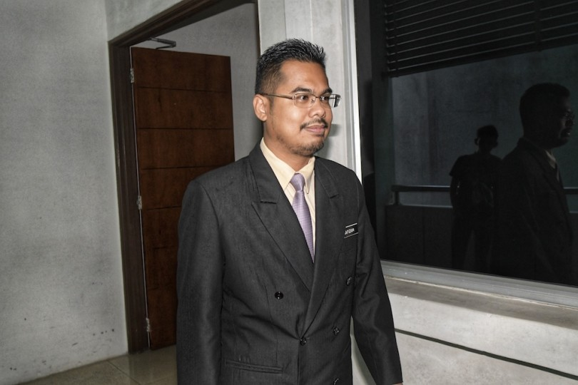 Hafizam -- one of the two witnesses the prosecution wanted to recall.