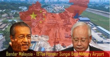 Bandar-Malaysia-197ha-Former-Sungai-Besi-Military-Airport-China-Influence