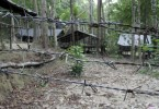 One of the camps in Wang Kelian.