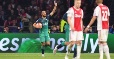 Moura the hattrick hero for Spurs.