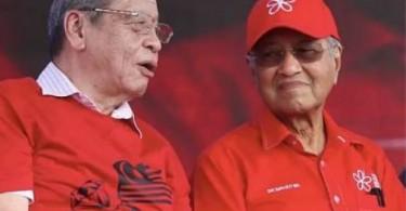 Lim Kit Siang and Tun Dr Mahathir Mohamad
