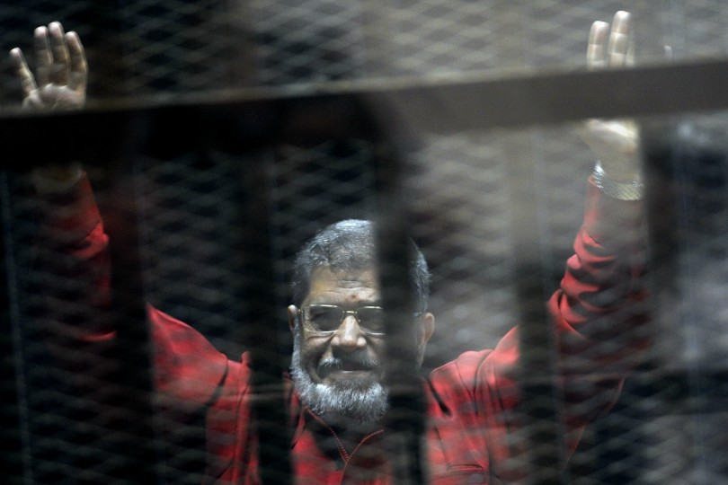 Mursi collapsed during his trial and died aged 67.