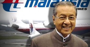 mahathir malaysia airlines