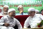 Datuk Tuan Ibrahim Tuan Man and Datuk Seri Abdul Hadi Awang