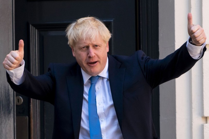 The flamboyant Johnson has promised to take Britain out of the EU by Halloween -- with or without a deal.