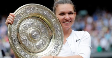 In winning her second Grand Slam after last year's French Open title, Halep becomes the first Romanian to win a Wimbledon singles title.