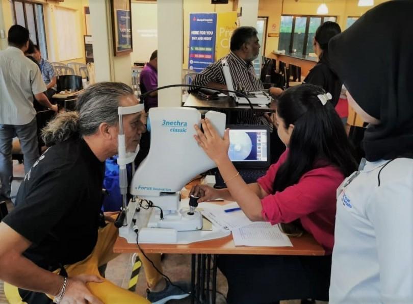 Health Screening Programme by Manipal Hospital Klang at National Press Club on Saturday.