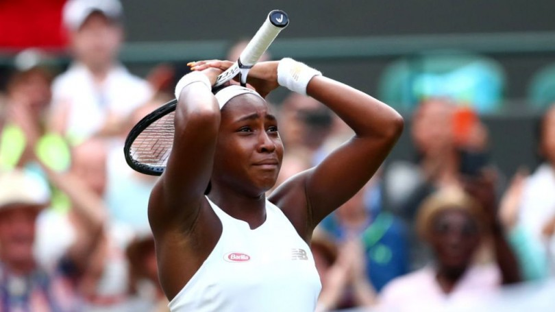 Gauff was one set down and staring at defeat but staged a remarkable comeback to become the youngest player to be in the last 16 since 1991.