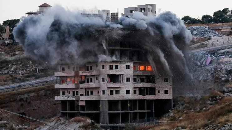 israel demolish