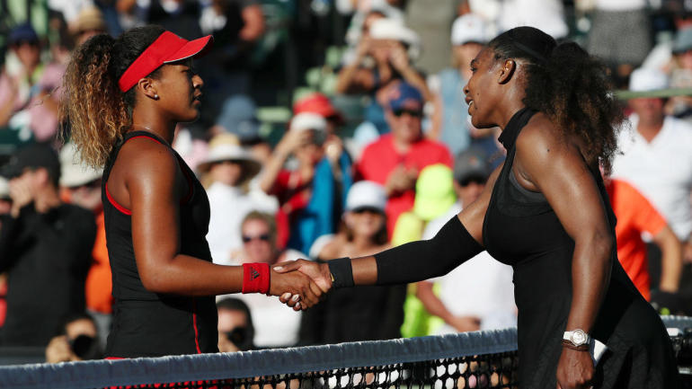 Both Osaka (left) and Venus have been knocked out in the first round at Wimbledon.