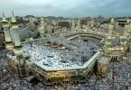 The Islamic world's holiest site in Makkah.