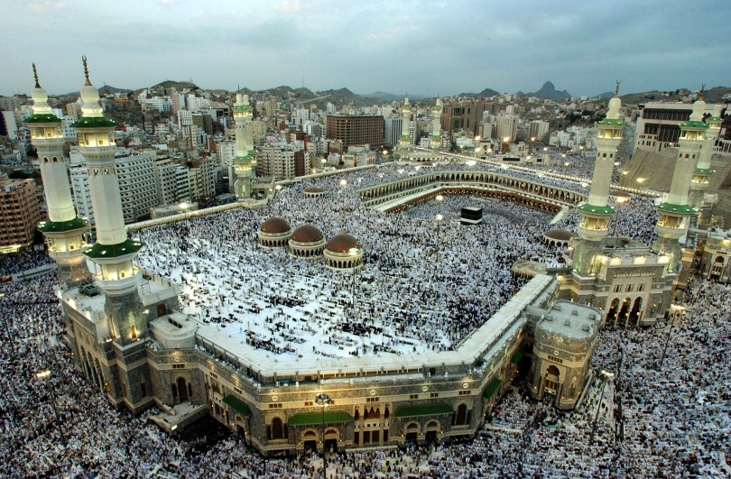 The Islamic world's holiest site in Makkah.