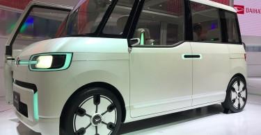 A Daihatsu DN Pro Cargo electric vehicle.