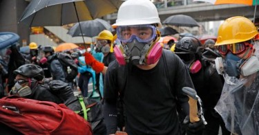 "The four other demands of the Hong Kong protestors  are: retraction of the word ""riot"" to describe rallies, release of all demonstrators, an independent inquiry into perceived police brutality and the right for Hong Kong people to choose their own leaders."