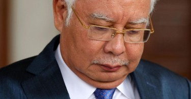 Najib faces the possibility of a long jail term.