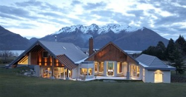 A luxury home in New Zealand.