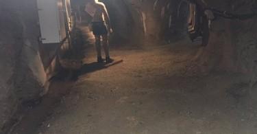 Inside a  disused tin mine in Sungai Lembing, Kuantan.