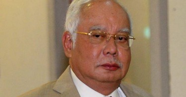 Najib -- the man at the centre of the trial.