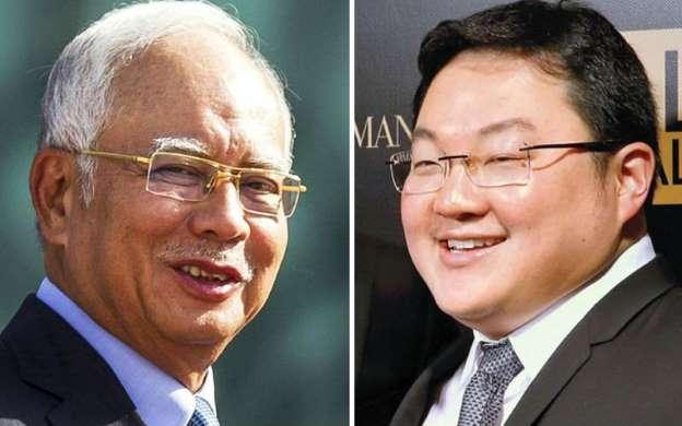 Najib (left) and Low