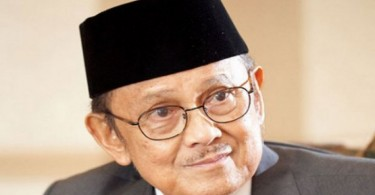 Habibie studied and worked in Germany for many years.