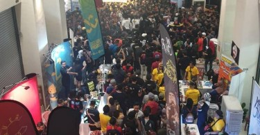 It is believed that there were almost 10 thousand people attending the vape exhibition in BM City Hall, Penang