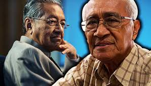 Syed Husin (right) finally opened up to speak scathingly of Mahathir.