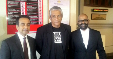 Haris Ibrahim and his lawyers